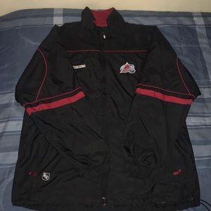 Colorado Avalanche CCM Jacket/Zip-Up